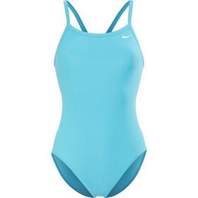Nike Swim Solid Racerback One Piece Women lt blue fury